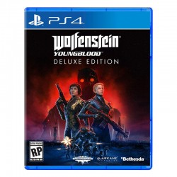 بازی Wolfenstein Youngblood Delux Edition برای PS4